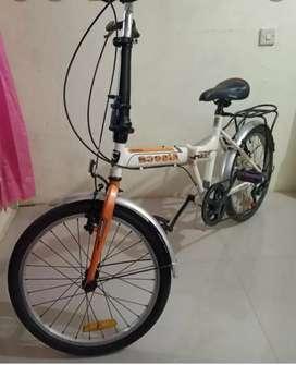 Sepeda masih ori..jarang dipakai