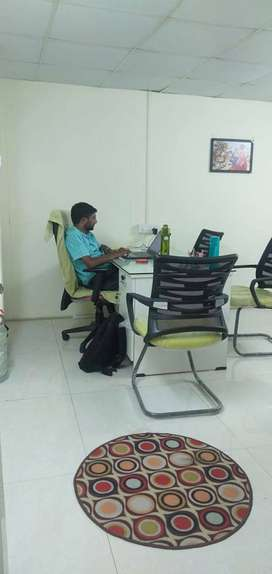 16 bench plug&play office space for rent bsheerbagh, Hyd