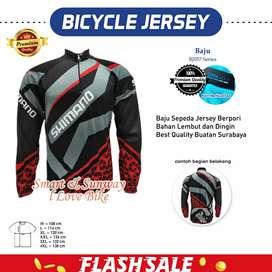 H1544 Baju Jersey Sepeda Best Quality Gratis Ongkir