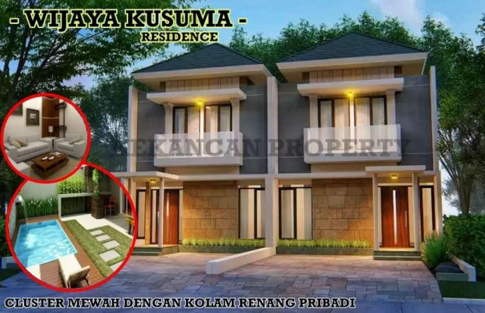 rumah 2 lantai luas 165m wijaya kusuma residence