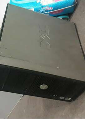 Dell led and dell cpu Core 2 duo with 128bit graphic card