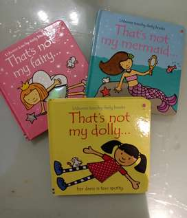 preloved Usborne Touch Feely Books isi 3 buku anak