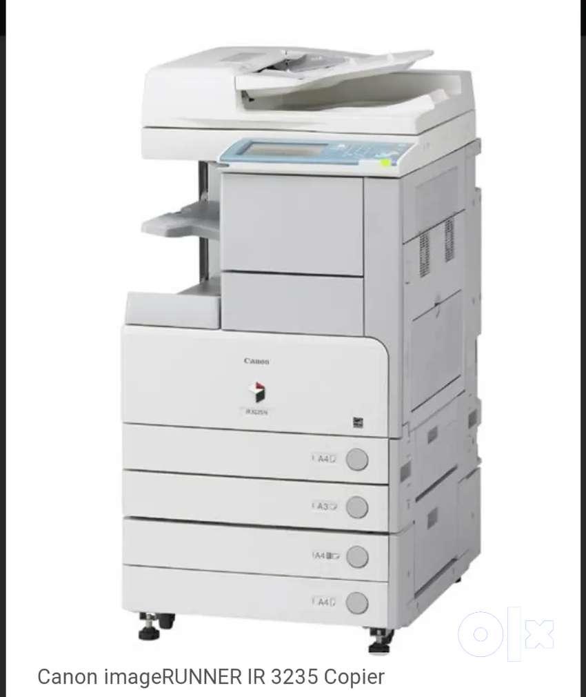 Photocopier service engineer