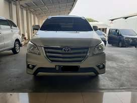 Toyota Innova V At 2014 Silver TDP 15 JT