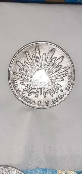 Uang koin antik REPUBLICA MEXICANA