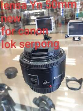 Lensa fix yongnuo 50mm for canon