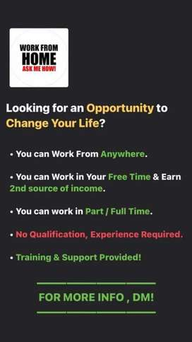 WORK PART/FULL TIME 2-4HOURS IN FREE TIME!