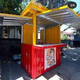 MURAH ! booth, gerobak dagang, rombong, kontainer, container