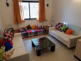 3 bhk semi furnish flat racca colony