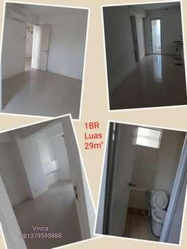Disewakan Apartemen Basura 1br Kosongan Ready lantai rendah diBassura