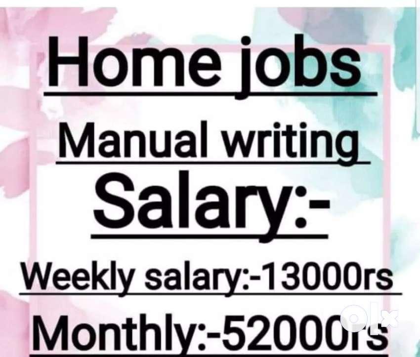 Hand writing weekly  job 0