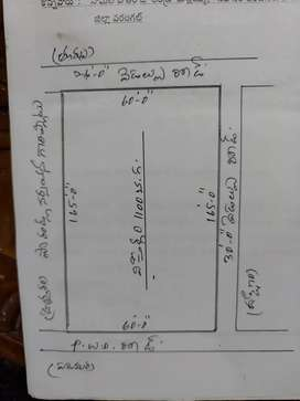 3 Side Road Commercial Plot at Bhupalpally,