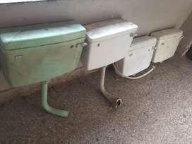 European Flush Toilet Tanks (4 are there)