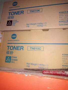 Konica Toshiba all Machine services and toner available black ,colour