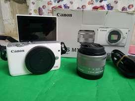 Jual Kak Kamera Mirrorless Canon Eos M10 lensa EF-M 14-45 mm
