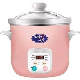 Baby Safe LB06D Slow Cooker 1.5L Alat Masak Makanan Bayi / MPASI BABY