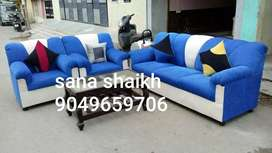 Good looking blueberry seating sofa