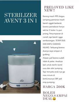 STERILIZER AVENT 3 IN 1