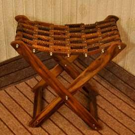 Wooden folding coffee chairs