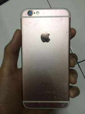 Bu iphone 6s rosegold 16gb