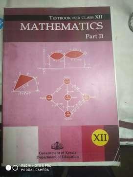 Xll Mathematics part 2 100/-