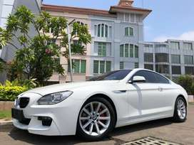BMW 640i Coupe 2014 Nik14 White Km30rb 3.0cc V6 Audio B&O TDP Ringan!!