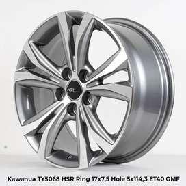 KAWANUA TY5068 HSR R17X75 H5X114,3 ET40 GMMF