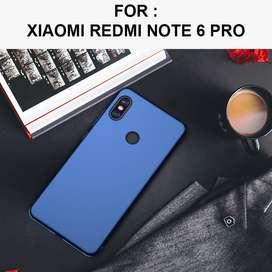 Baby skin case Xiaomi Redmi Note 6 Pro hardcase casing back cover slim