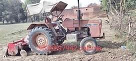 Swaraj 855 old modle with rotavetor in a good condition a small price