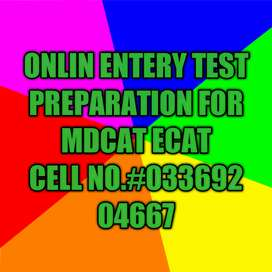 Teacher available ,Entry test preparation for MDCAT,ECAT, (CHEMISTRY)