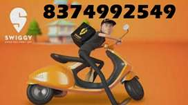 SWIGGY HIRINGS DELIVERY BOY FOR WEEKENDS/GET DAILY INCOME/ NO TARGETS