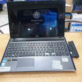 Laptop bekas acer 5755G - core i7 - vga