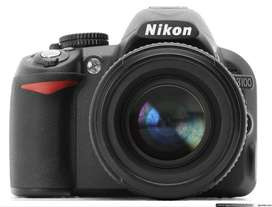D3100 DSLR Camera Just Like New With Complete Box 30000 RS