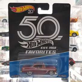 Hotwheels Hot Wheels 50th Favorites 56 Chevy