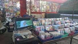 Oper kedai kaset tanpa tv sesuai foto