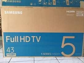 Tv merk samsung 43 inchi breket dudukan tv kartu garansi