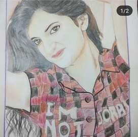 All sketch at only 500 nd aap jo sktch bnwana