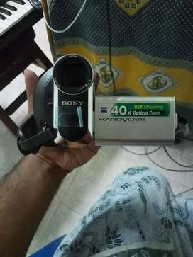 ( prize negotiable ) Sony handicam, with original charger