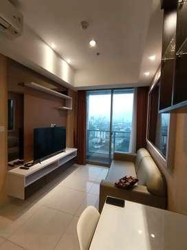 Last call Taman Anggrek Residence 3 bedroom city view interior bagus