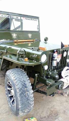 willys jeep with power steering