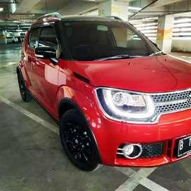 Suzuki ignis GX AT 2018 orange km 2ribu record