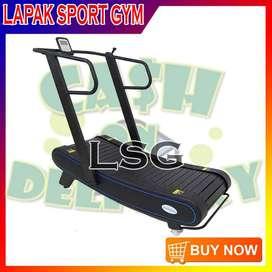 Alat Olahraga Fitness Treadmill Manual TL 036 Komersil Curve