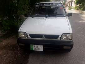mehran car with good condition patrol and cng both in running 100%