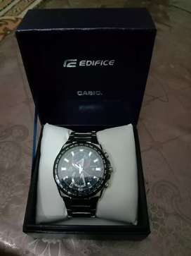 Original Casio Edifice -550dy Dual time, Day , Alarm and stopwatch