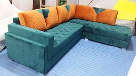New sofa set at factory outlet