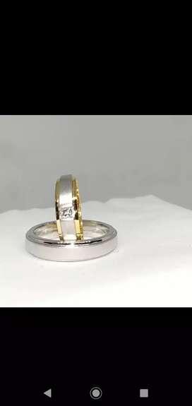 Cincin emas berlian Eropa