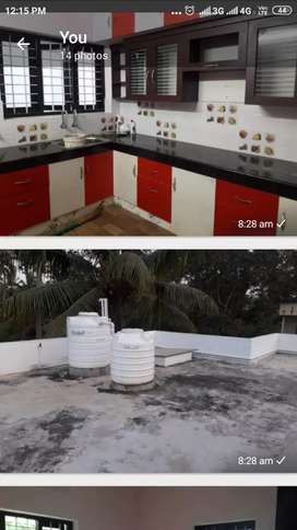 3 bhk new house for rent at ulllor-akkulam road