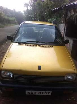 Good condition old maruti 800 for sale test and tax pending