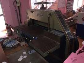 Cutting machine and Horizon perfect binding machine