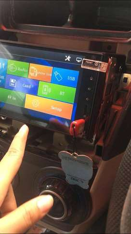 Kualitas Super Head Unit Mobilio support mirror link android iphone